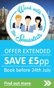 SAVE £5 per person. Click here to read more